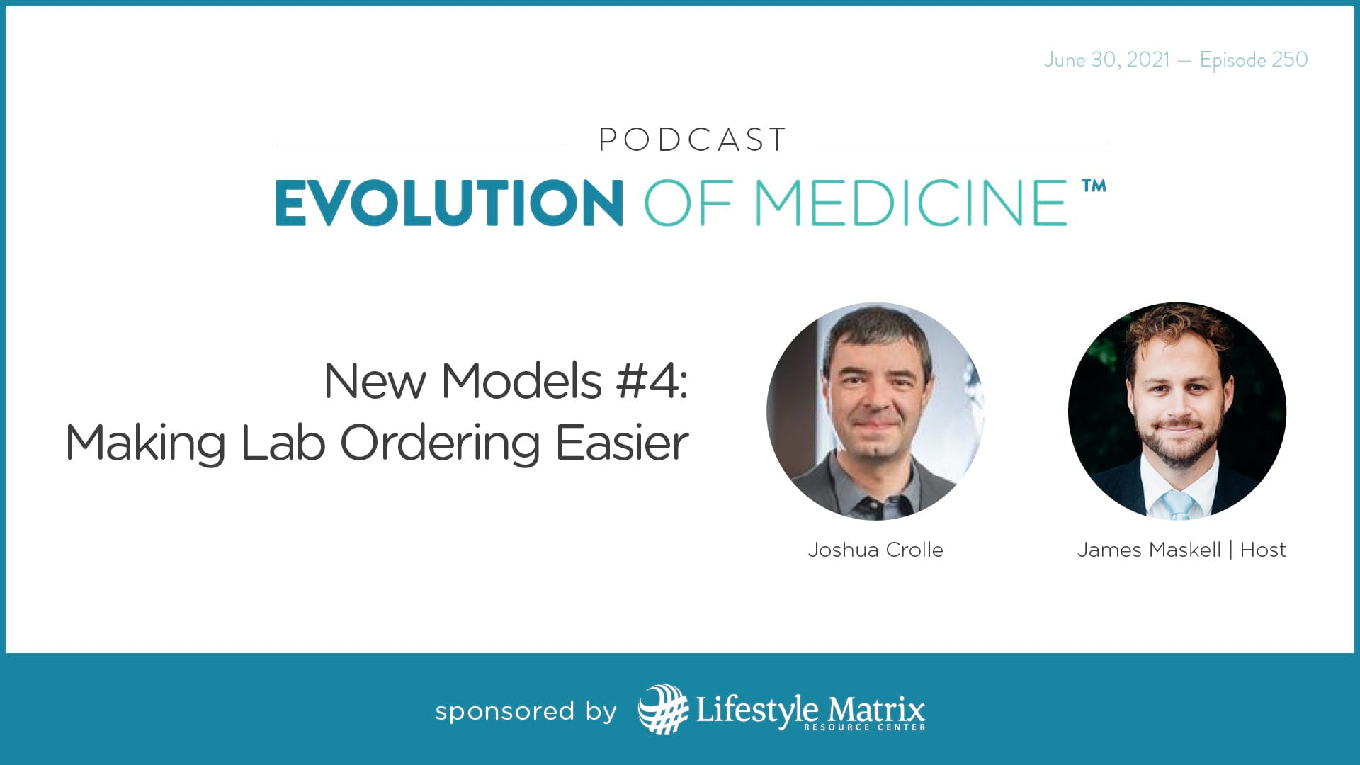 New Models #4: Making Lab Ordering Easier