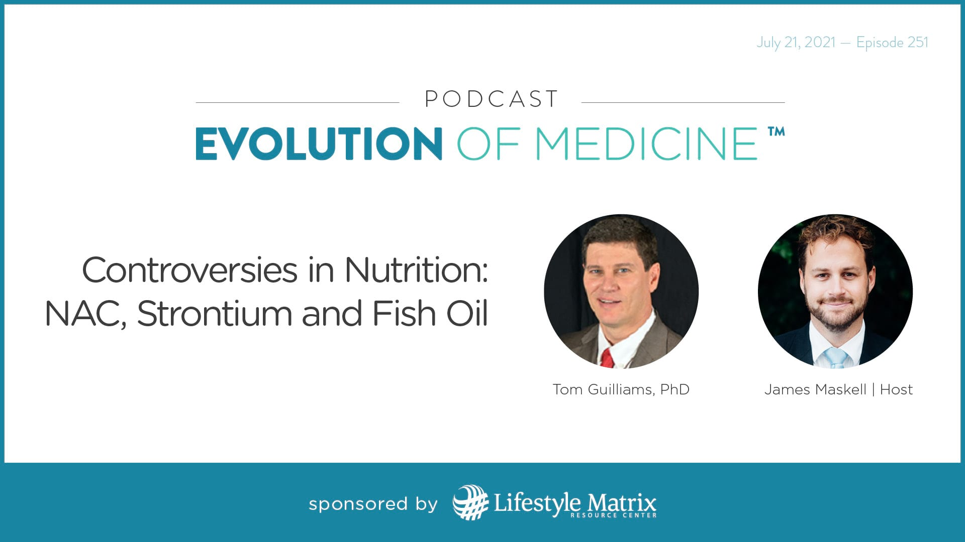 Controversies in Nutrition: NAC, Strontium and Fish Oil