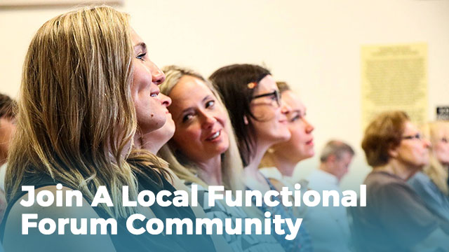 Join a Local Functional Forum Community